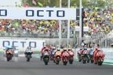 Francesco Bagnaia race start, San Marino MotoGP race, 19 September 2021