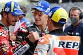 Francesco Bagnaia, Fabio Quartararo, Marc Marquez, MotoGP, Grand Prix of the Americas, 2 October 2021