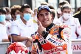Marc Marquez , MotoGP race, Emilia-Romagna MotoGP. 24 October 2021