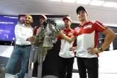 MotoGP: Ducati unveils V4 Superbike engine at Misano