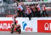 MotoGP: In with the fans: Marquez explains grandstand celebration!