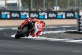 MotoGP: Lorenzo beats Dovizioso to frantic Silverstone pole