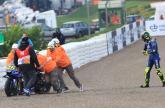 MotoGP: Rossi: Difficult day, feeling uncomfortable