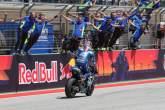 Ayah baru Rins kembali ke panggung untuk kemenangan MotoGP pertamanya