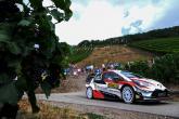 World Rally: Rallye Deutschland - Classification after SS15