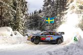 World Rally: Rally Sweden - Classification after SS8