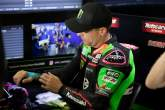 Alex Lowes with strapped hand, Portuguese WorldSBK, 1 October 2021