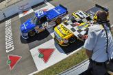Blaney holds off Quiroga for Mosport Trucks win
