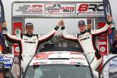 BRC: Evans secures British title with Ulster win