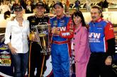Truck: Harvick wins race, Hornaday the title