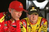 Kurt Busch loses crew chief - and temper