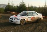 Jason Pritchard's Subaru Impreza N11 was stolen over the weekend