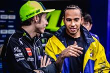 VIDEO: First footage emerges of Hamilton-Rossi swap