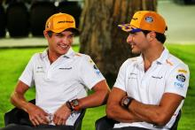 Norris 'playing the long game' alongside Sainz at McLaren
