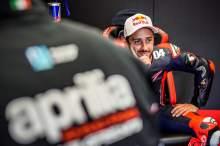 Albesiano: Andrea Dovizioso helping Aprilia 'a lot'