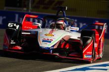 Bentrokan BMW menyerahkan kemenangan Formula E. d'Ambrosio Marrakesh