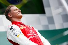 Schumacher glad to be 'over the bad luck' after first F2 win
