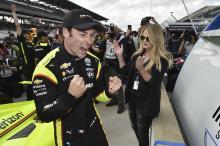 Simon Pagenaud claims career milestone Indy 500 pole