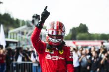 Leclerc meletakkan penanda dengan kemenangan Spa