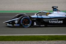 Mercedes' Vandoorne storms to pole for first Valencia E-Prix