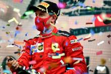 """Vettel delighted to be 12th F1 driver on podium in 2020 after """"difficult year"""""""