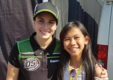 Ana Carrasco, Shaina Salvia, World Supersport 300,