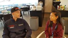 Shaina interviews… Moriwaki Althea Honda's Leon Camier
