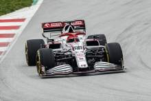 FIRST LOOK: Kubica gives Alfa Romeo's 2021 F1 car its track debut