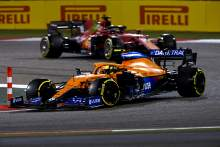 F1 video: McLaren versus Ferrari in battle over P3?