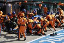 The pit stop issue that cost Norris F1 podium shot in British GP