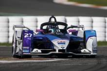 Dennis claims maiden Formula E pole position in Valencia