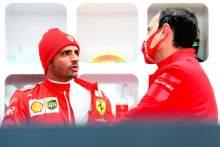 "Sainz says data on Ferrari's 2021 F1 car is ""encouraging"""
