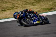 Luca Marini takes eighth in Q2, 'close to the fastest guys'