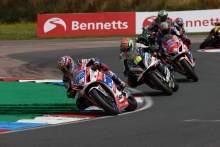 'Positive steps' forward sees Kent take first British Superbike podium