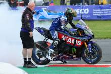 Mackenzie emulates his father's success with first BSB title 25 years later