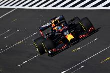 Albon in action as Red Bull run 2020 F1 car at Silverstone