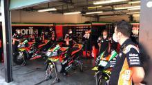 Masks at Misano as MotoGP test begins