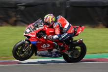 Josh Brookes back on top in BSB race two and title race