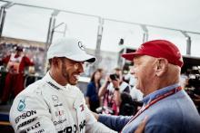 Hamilton: Saya masih akan menjadi juara F1 satu kali tanpa Lauda