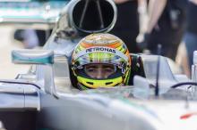 Gutierrez dua kali memecahkan rekor lap Sonoma dengan mobil Mercedes W07 F1