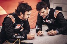 Co-driver Alonso mengonfirmasi saat persiapan Dakar berlanjut