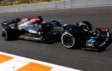 Hamilton heads F1 rival Verstappen in curtailed first practice