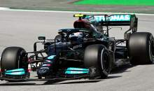 Bottas heads Verstappen in red-flagged first practice for F1 Spanish GP