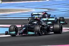 Bottas leads Mercedes 1-2 in opening practice, Vettel crashes