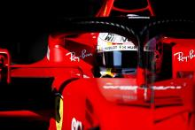 LIVE: Vettel returns to F1 testing action on day two