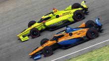 """Norris membanting Pagenaud """"asin"""" setelah kecelakaan IndyCar virtual"""