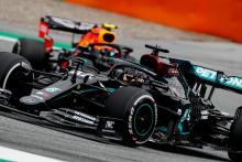 Hamilton taking Mercedes' strong start with a 'pinch of salt'
