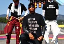No FIA investigation over F1 champion Hamilton's T-shirt