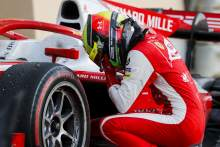 """F1-bound Mick Schumacher """"overwhelmed"""" to secure F2 title"""