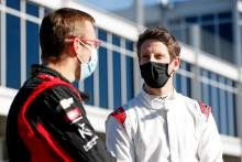 """Grosjean still sore but """"really happy"""" with IndyCar test debut"""